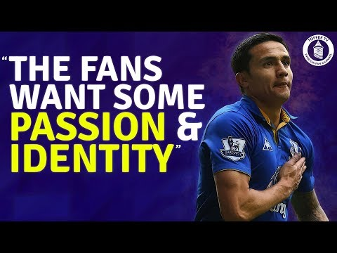 """""""The Fans want some passion and identity"""" 