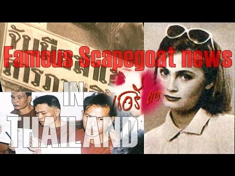 Famous Scapegoat news in THAILAND - YouTube