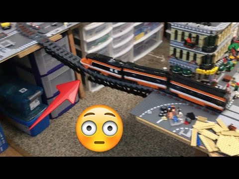 Thumbnail: Lego Train Bridge Fail! Crash