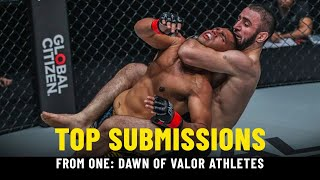 Best Submissions From ONE: DAWN OF VALOR Athletes   ONE Highlights