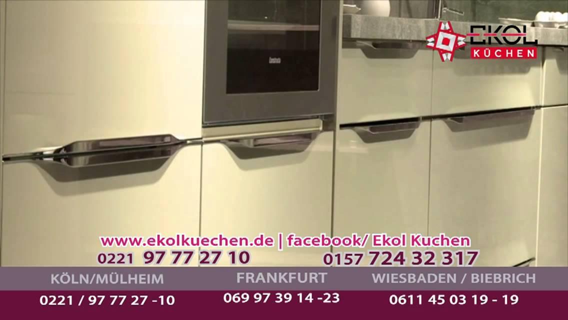 ekol kuchen ekol küchen ekol kuechen 8 10 - YouTube | {Küchen frankfurt 39}