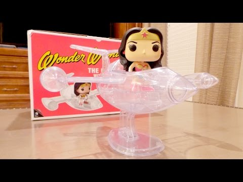 The Invisible Jet with Wonder Woman POP Ride! #16