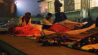 India's Homeless Suffering In Winter Conditions