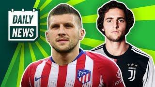 Rabiot zu Juve! Rebic zu Atlético Madrid? Transfer-News von Schalke 04, Düsseldorf, BVB und AS Rom!