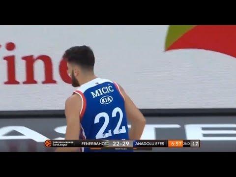 Vasilije Micic highlights (Fenerbahce Istanbul vs Anadolu Efes Istanbul:  73-92)