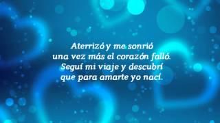 Aterrice (con letra). Beto Cuevas.