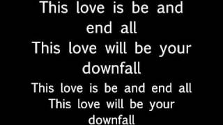 Ellie Goulding - This Love (Will Be Your Downfall) (lyrics on screen)