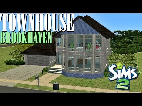 Sims 2 | House Build - BrookHaven Townhouse