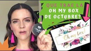 OH MY BOX en Octubre ? 🎁 Demasiadas cosas de un dólar ? Al FINAL SI VALIÓ LA PENA!🙊