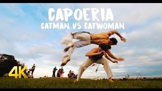 Catman vs Catwoman - Capoeira 4k!