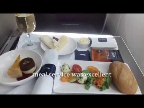 British Airways Business Class London to Toronto 2017
