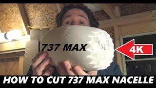 Video DIY Boeing 737 Max RC Airplane Airliner Nacelle Chevrons [4K] download MP3, 3GP, MP4, WEBM, AVI, FLV Agustus 2018