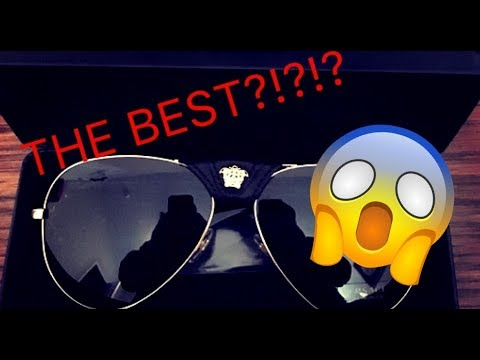 THE BEST VERSACE SUNGLASSES EVER?! Versace Black Baroque Sunglasses Review