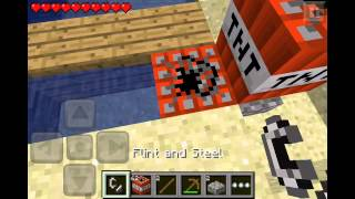 How To Build A TNT Cannon In Minecraft Pe Legit