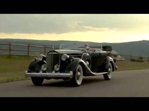 1935 Packard V12 Dual Cowl Sport Phaeton Test Drive