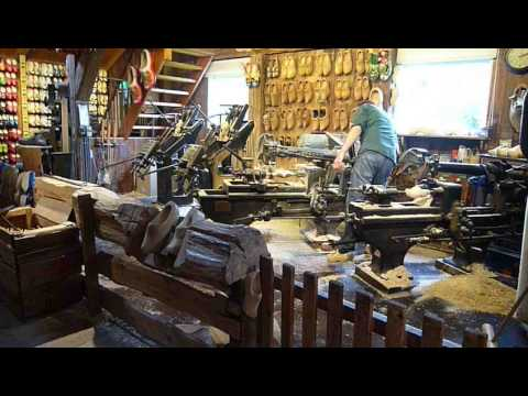 Shoe Making Process in Holland Windmill Netherlands