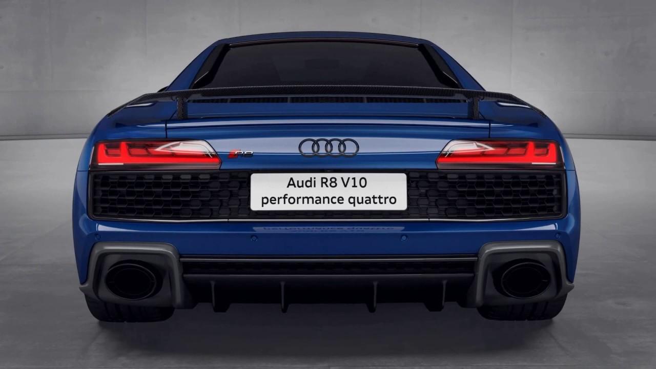 2020 Audi R8 V10 Performance Quattro Highlights Youtube