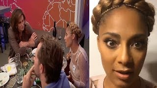 Amanda Seales Discuss Caitlyn Jenner & Takes Us On Set of Insecure
