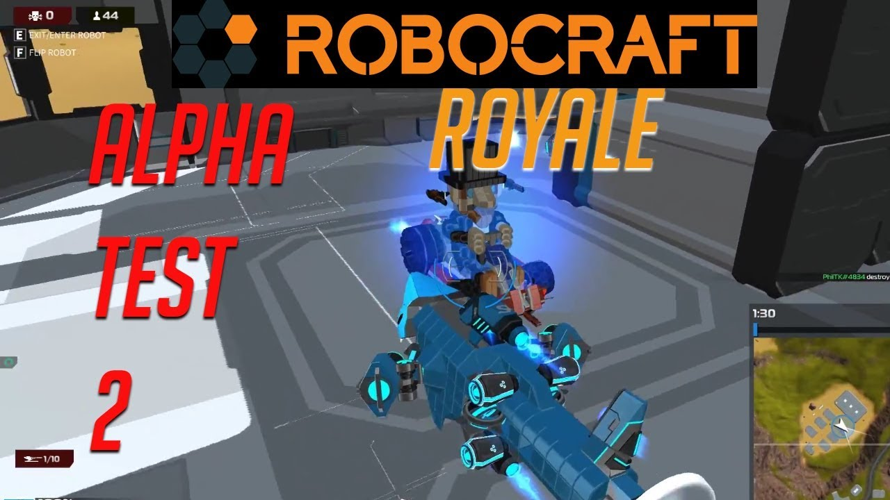 Robocraft royale Alpha test 2 - Twisted metal in 2018 ...