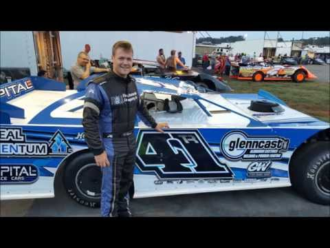 #41 TJ Reaid - Super Late Model - 8-27-16 - Smoky Mountain Speedway