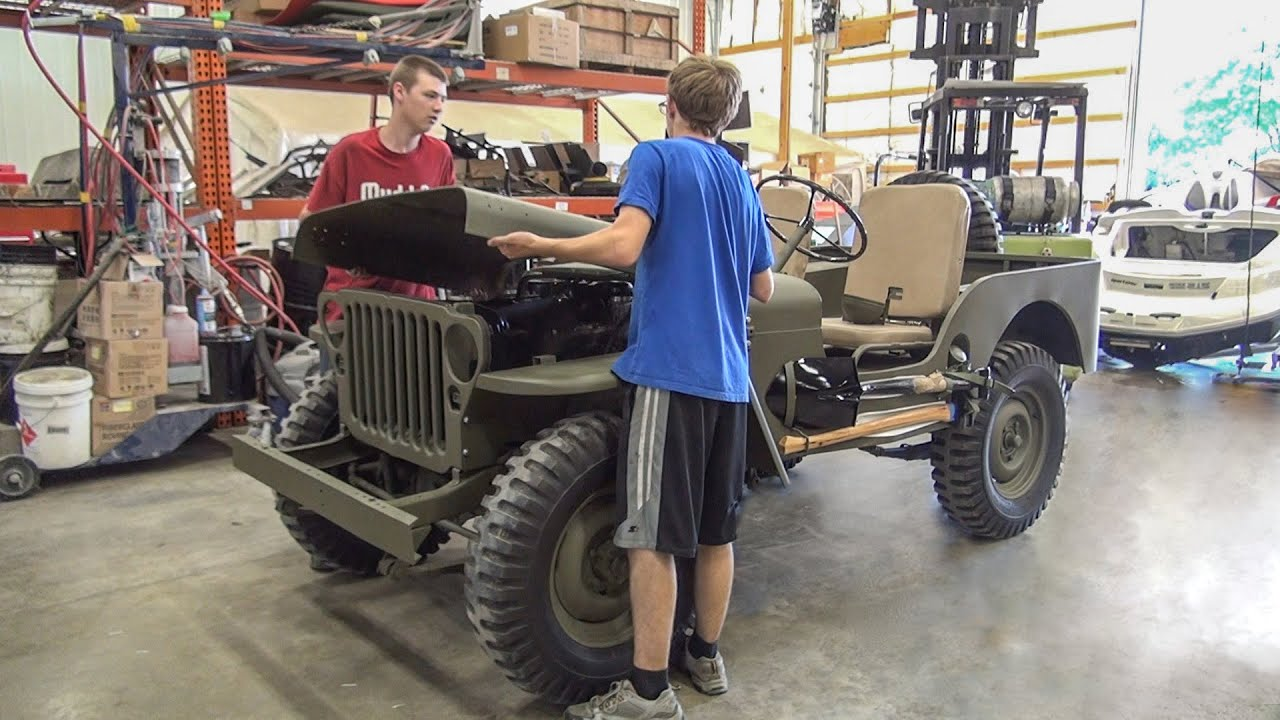 Willys Jeep Restoration Full Time Lapse No Music Youtube 1941 To 1952