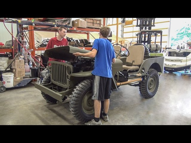 Willys Jeep Restoration Full Time Lapse - [No Music] - YouTube