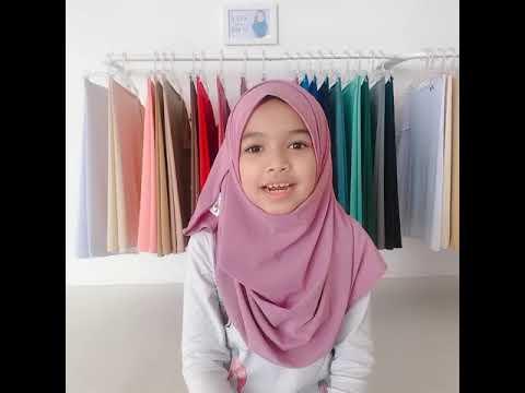 Yaya Hijab (Double Loop) Kids Hijab Video