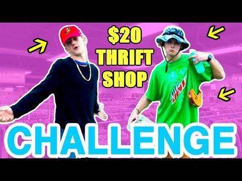$20 Thrift Shop Challenge!