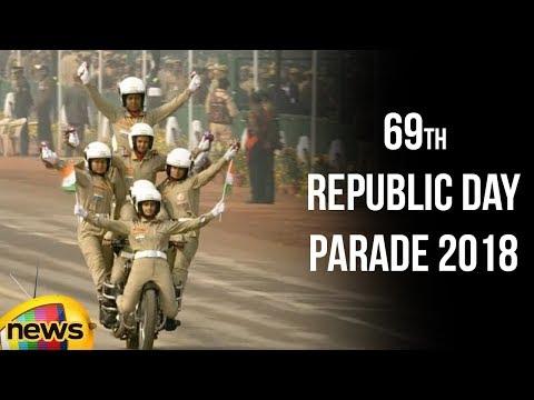 69th Republic Day Parade 2018 At Rajpath | Governor Ram Nath Kovind | PM Narendra Modi | Delhi