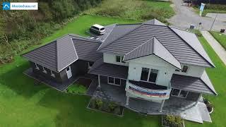 Stadtvilla Drohnenvideo - Musterhaus von VarioSelf