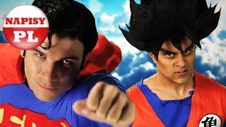 (NAPISY PL) Goku vs Superman. Epic Rap Battles of History Sezon 3.