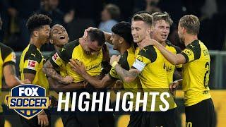 Borussia Dortmund Vs. Eintracht Frankfurt | 2018 19 Bundesliga Highlights