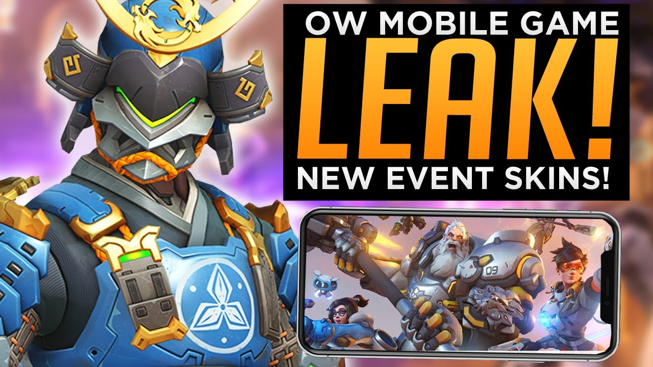 Overwatch Mobile Game LEAK! - NEW Archives Event SKINS!