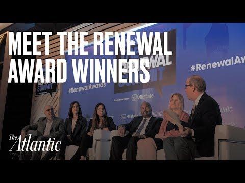 Meet the 2017 Renewal Award Winners