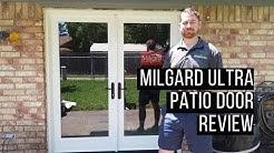 Milgard Ultra Fiberglass Hinged Patio Door Review