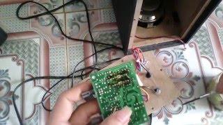 Điện Tử Thực Hành - Sửa chữa loa vi tính chạy ic công suất TEA2025 Mạch In 2 Lớp