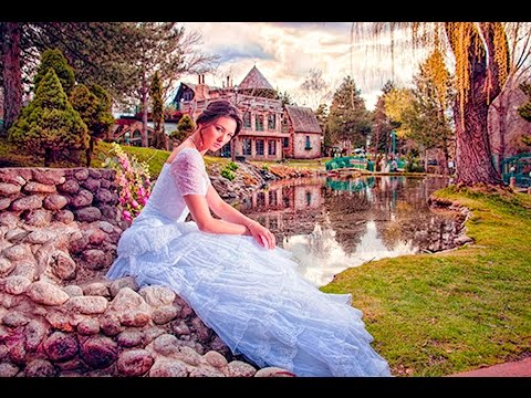 Salt Lake City Fashion Photoshoots! Bridals at La Caille