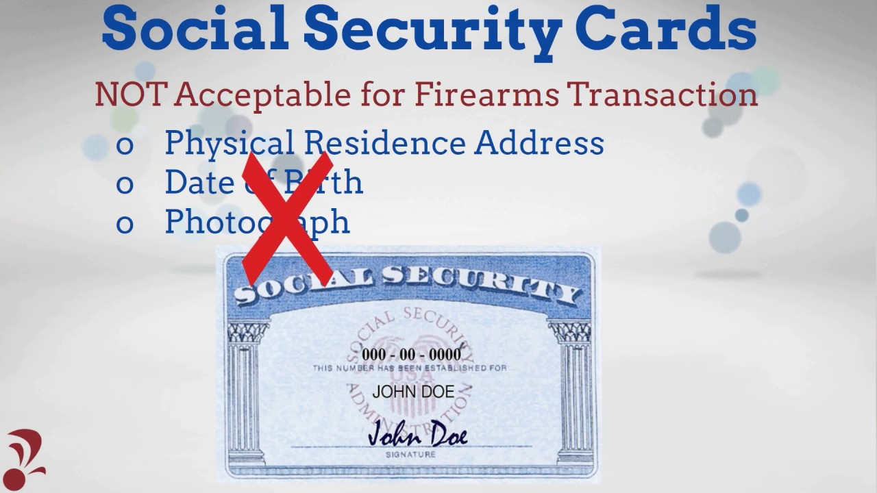 Ffl Tutorial Atf Form 4473 Id Requirements Youtube
