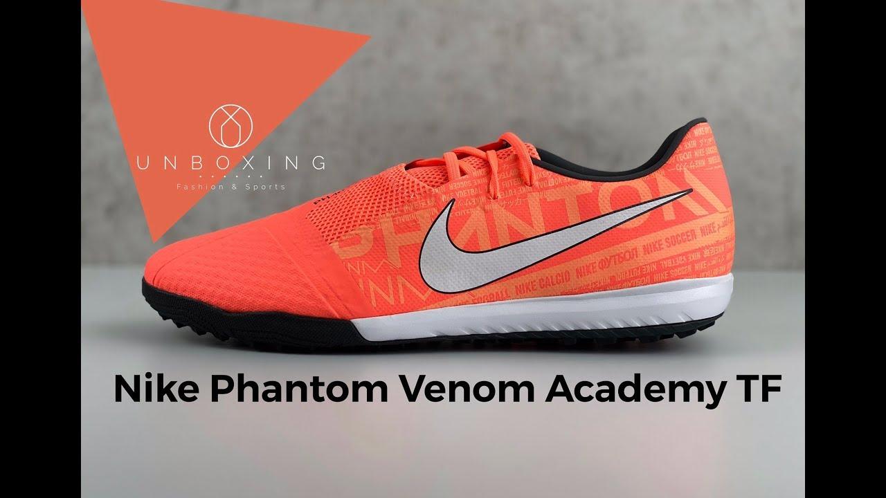 Nike Phantom Venom Academy TF 'Phantom Fire Pack' | UNBOXING & ON FEET | football boots