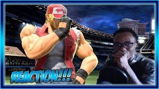 Mr. Sakurai Presents Terry Bogard Reaction!!! | Super Smash Bros Ultimate