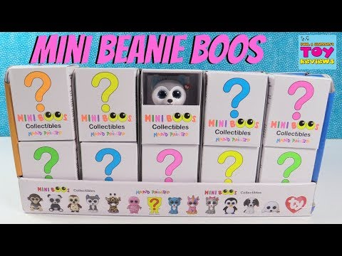 Beanie Boos Mini Boos Ty Collectible Figures Blind Box Series 1 Toy Review | PSToyReviews