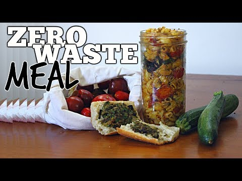 Zero Waste Cooking | Vegan Summer Pasta Dish