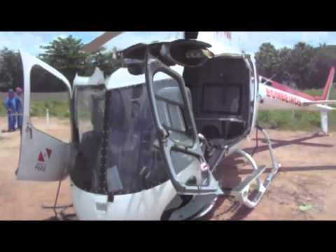 Explained: AS350 Eurocopter Helicopter Self-Destructs - YouTube