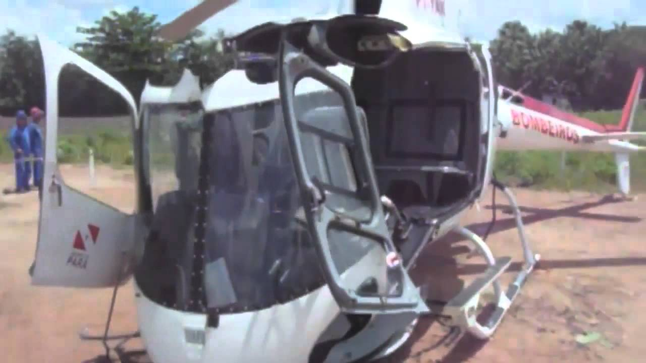 Explained: AS350 Eurocopter Helicopter Self-Destructs