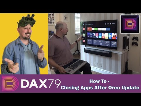 Closing Apps After Oreo Update Via Keyboard – Sony Bravia