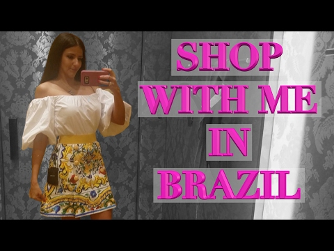 Lux Shopping in Brazil - Louis Vuitton, Gucci, Dolce & Gabbana, Sephora