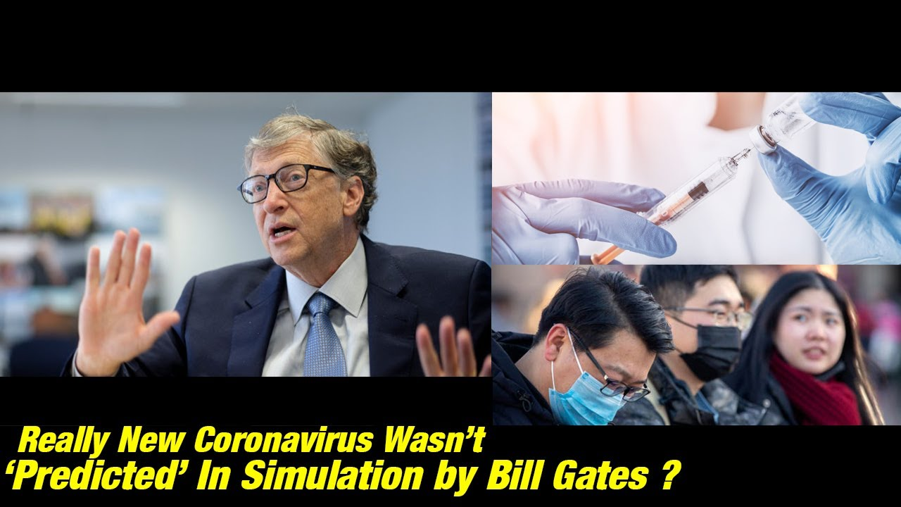 bill gates coronavirus simulation
