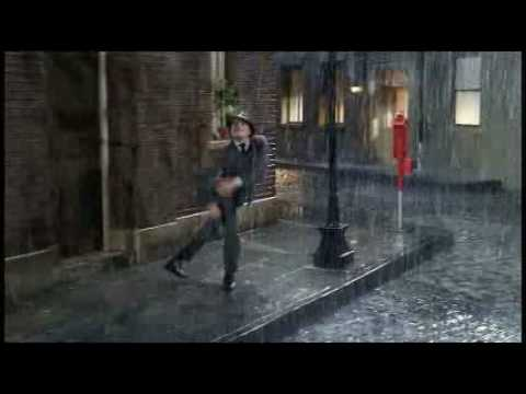 Singing and dancing in the Rain Remix style