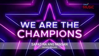 Jennylyn Mercado - Sapat Na Ang Minsan (Official Audio)