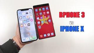 """So sánh thiết kế Bphone 3 vs iPhone X: Chiếc smartphone """"không cằm"""" nào đẹp nhất???"""